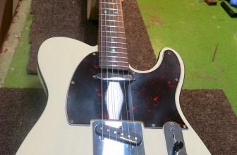 Refrettage Fender telecaster