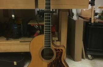 Restauration rosace guitare Larrivée