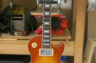 Gibson Les Paul Std 1960 Reissue réparation touche