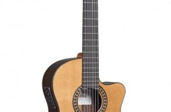 Guitare classique électro-acoustique Alhambra 5PF-CP